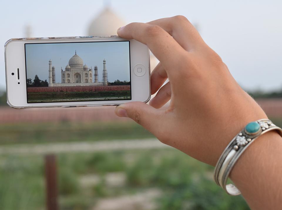 Mobile India Taj Mahal 960x714
